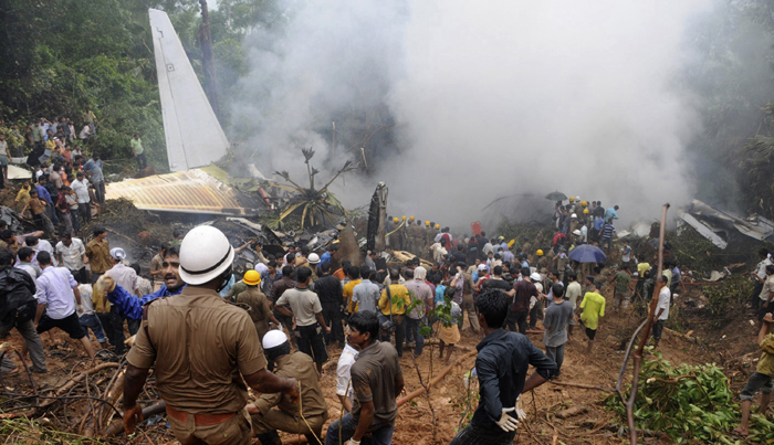 Air India Express crash in Mangalore