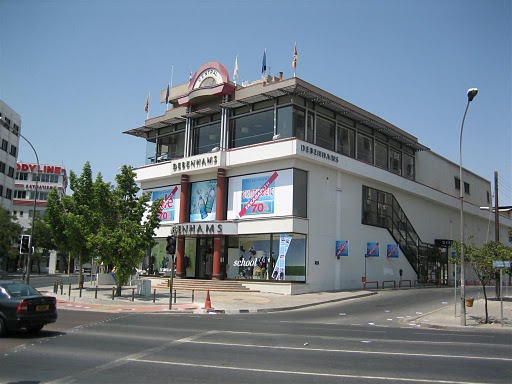 Debenham shopping mall in Cyprus