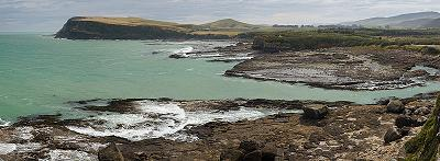 The Catlins, an impressive coastal area in the southeast of New Zealand's southern island