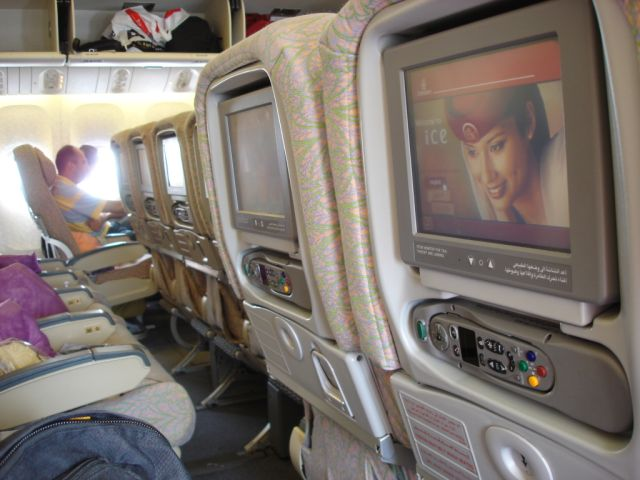 Iformation Communication Entertainment System on Emirates Air