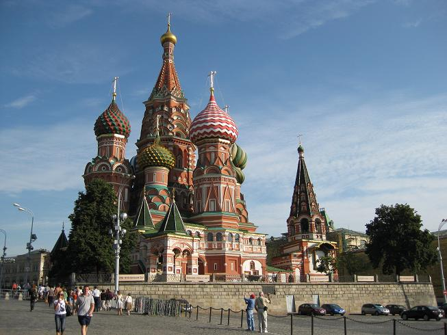 church in Moscow, Russia