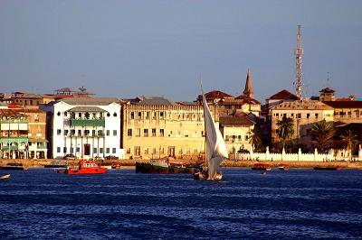 Zanzibar from the Sea