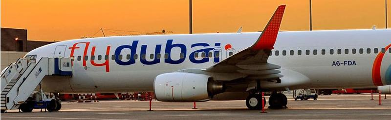 flydubai plane